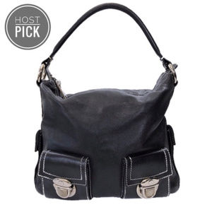 VTG Marc Jacobs Blake Black Leather Satchel